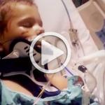 Kind im Krankenhaus an Maschinen