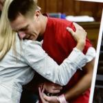 Mutter umarmt Mörder ihrer Tochter