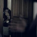 Kleines Mädchen hat Angst