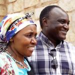 kenianisches Ehepaar