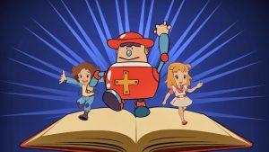 Zeichentrickfiguren aus Superbuch